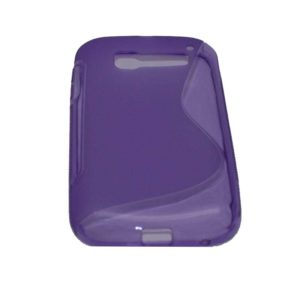 CASE ALCATEL C5 PURPLE